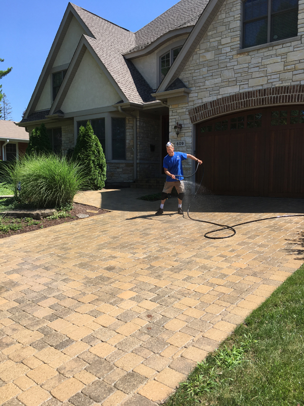 Brick Paver Cleaning And Sealing
